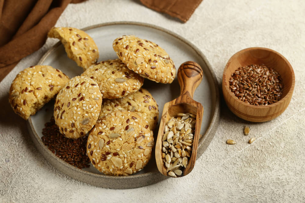 flaxseeds in cookies